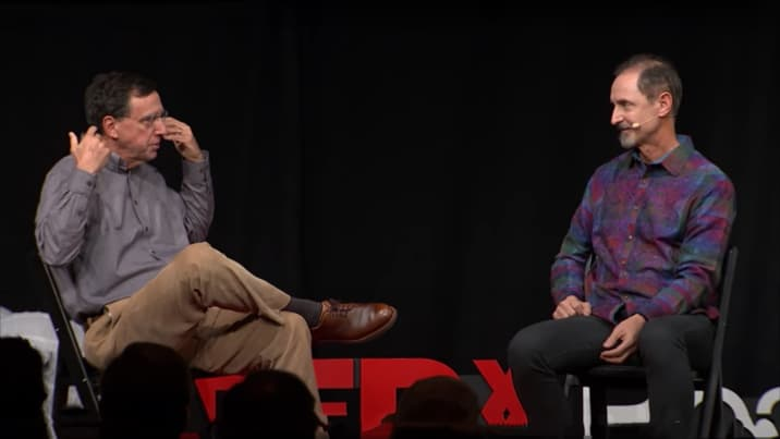 Tom Gruber in Conversation with John Markoff TEDx Beacon Street