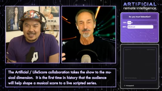 Tom Gruber Interview, LifeScore Debut on Twitch.tv, Artificial Show