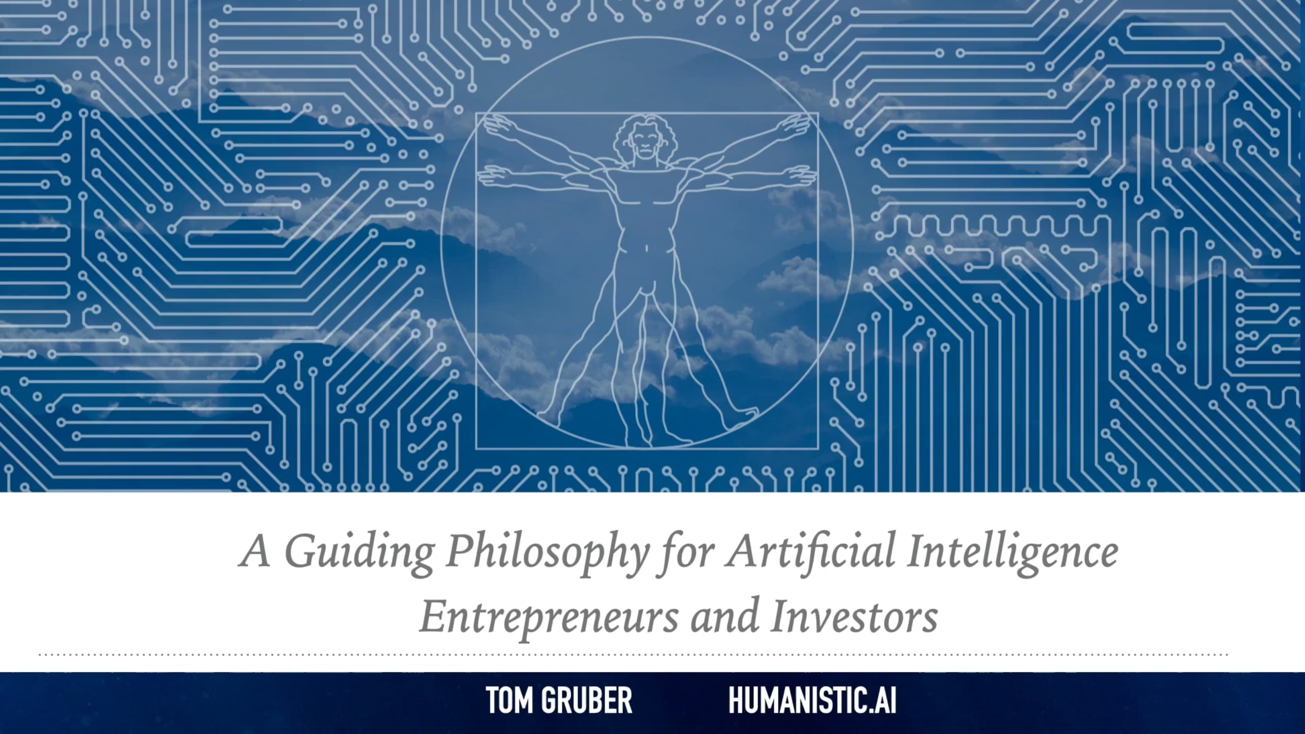 A Guiding Philosophy For Artificial Intelligence Entrepreneurs And Investors 1920 Sq