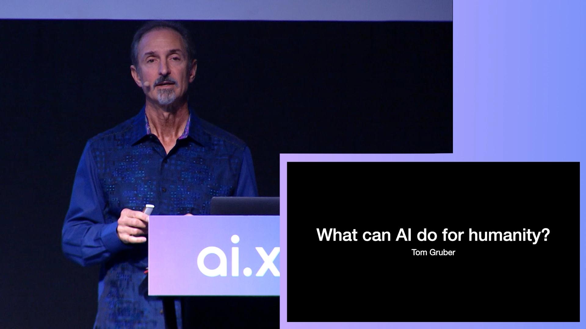 Tom Gruber at AI.x 2019